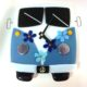 "VW Bus Wall Clock- Blue ""Time Traveler"""