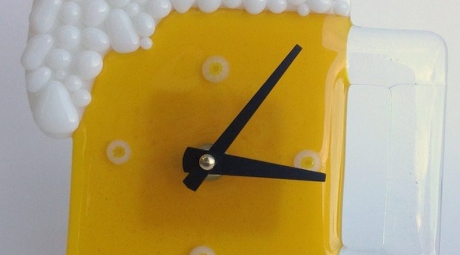 Beer Mug Wall Clock